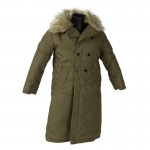 Imperial Japanese Army Coat with Fur Collar (Olive Drab)