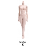 Xing Series - Modified Version Super Flexible Pale Female Body (Large bust)