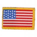 Patch drapeau Etats-Unis (Rouge)
