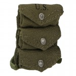 Triple Grenades Pouch (Olive Drab)