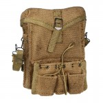 Worn Medic Canvas Bag with Cantle Ring Strap (Coyote)