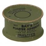 Boîte de plâtre chirurgical adhésif en métal (Olive Drab)