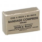 Sterilired Bandage Compress Packing Box (Coyote)