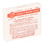 Morphine Tartrate Solution Packing Box (Red)