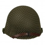 Diecast M1 2nd Ranger Helmet with Net (Olive Drab)