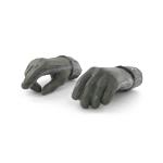 Mains gantées