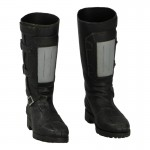 Female Biker Boots (Black)