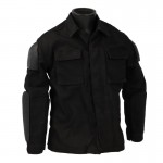 Tactical Vest with Pads (Black)