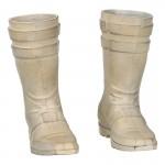 Worn Boots (White)