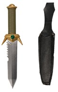 Diecast Dagger with Scabbard (Grey)