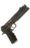 Custom Colt 45 M1911 Pistol (Grey)
