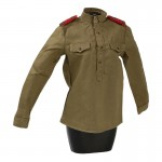 Female M43 Red Army Shirt (Olive Drab)