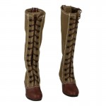 Female M41 Tropical Heeled Boots (Coyote)