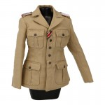 Female Afrika Korps Tropical Jacket (Beige)