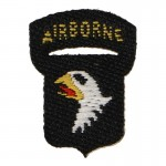 Patch Screaming Eagle 101st Airborne (Noir)