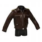 Leather Luftwaffe Corium Flying Jacket (Brown)