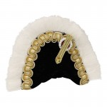 Velvet Marshall Of The Empire Bicorne (Black)