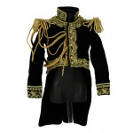 Velvet Marshall Of The Empire Jacket (Black)