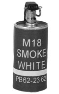 M18 White Smoke Grenade (Purple)