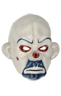 Worn Clown Mask (White)