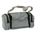 Zipper Backpack with Grenade Rack (Grey)
