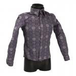 Patterned Shirt (Purple)