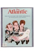 Couverture du magazine The Atlantic (Bleu)
