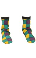 Clown Socks (Green)