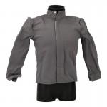 Satin Shirt (Grey)