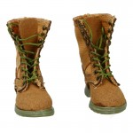 Female Suede Jungle Boots (Sand)
