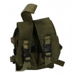 7,62mm Drop Leg Double Magazines Pouch (Woodland)