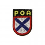 Patch POA Russian Volunteer (Bleu)
