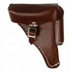 Holster P08 en cuir (Marron)