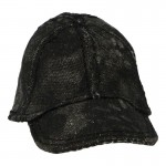 Female Cap (Black Camo)