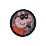Gangsta Peppa Pig Patch (Pink)