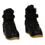 Leather Female Shoes (Black)
