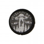 Alien Kidnapping Patch (Grey)