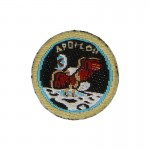 Apollo 11 Patch (Black)