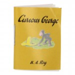 Livre Curious George (Jaune)