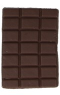 Tablette de chocolat (Marron)