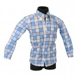 Plaid Shirt (Blue)