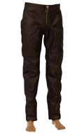 Leather Pants (Brown)