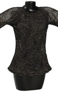 Female Chain Mail Hauberk (Grey)
