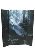 Forest Background Diorama (Blue)