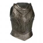 Armure de buste de Chevalier Lothrique en métal aspect usé (Gris)