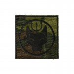 Patch Navy Seal Team 6 Bravo Devgru Wolf Head Trident (Multicam)