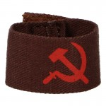 Red Army Cuff Title (Brown)