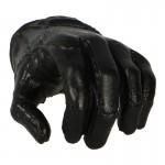 Main gauche gantée Femme (Noir)