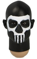 Male Headsculpt with Skull Makeup