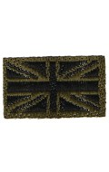 Britain Flag Patch (Olive Drab)